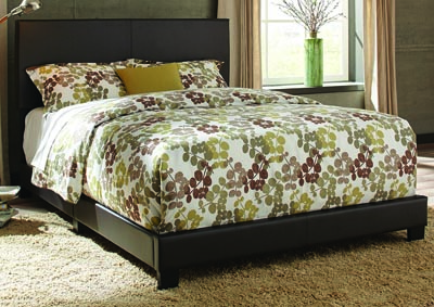 Ramon Queen Brown PU Bed In One Box
