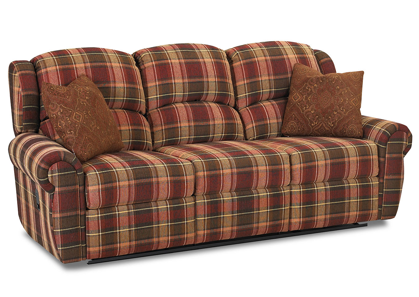 Best Buy Furniture and Mattress Mcalister Reclining Fabric Sofa