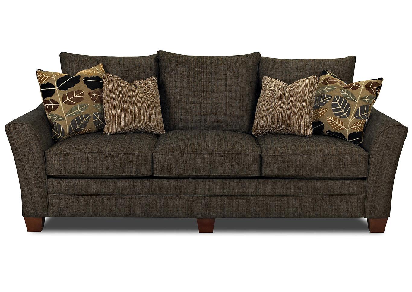 Best Buy Furniture and Mattress Posen Dark Brown Stationary ...