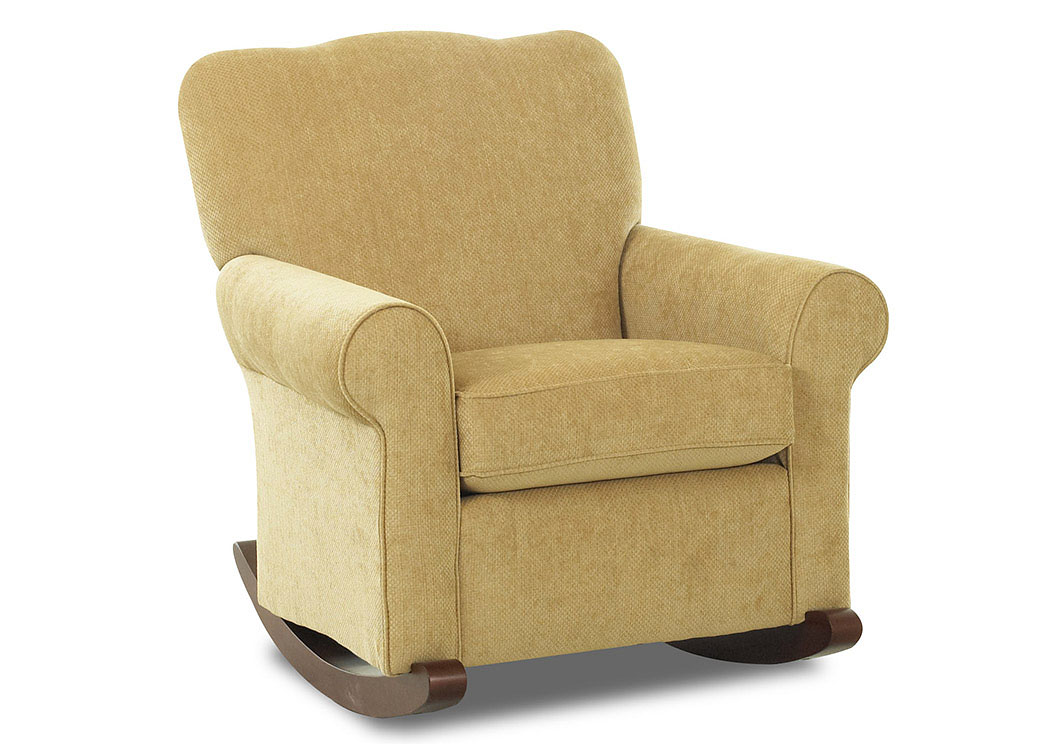 Wondrous Do Furniture Old Town Tan Fabric Rocking Chair Machost Co Dining Chair Design Ideas Machostcouk