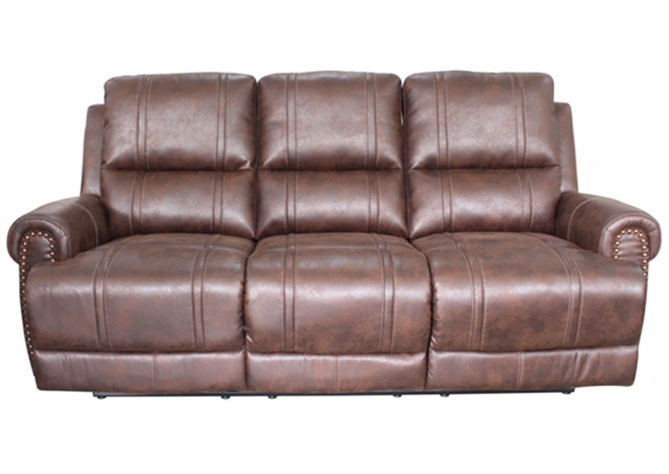 Best Buy Furniture and Mattress Anaheim Reclining Leather Sofa