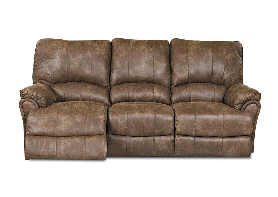 Briscoe Silt Reclining Sofa,Klaussner Home Furnishings