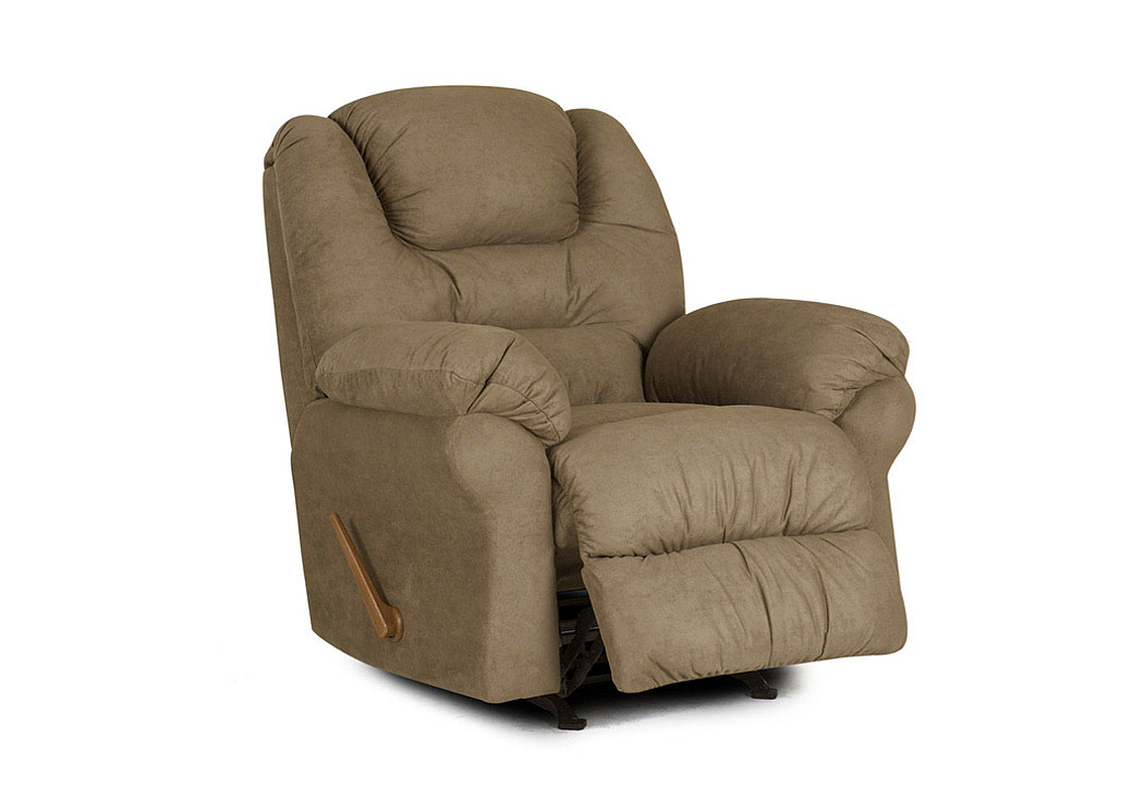 Contempo Brown Power Reclining Chair,Klaussner Home Furnishings