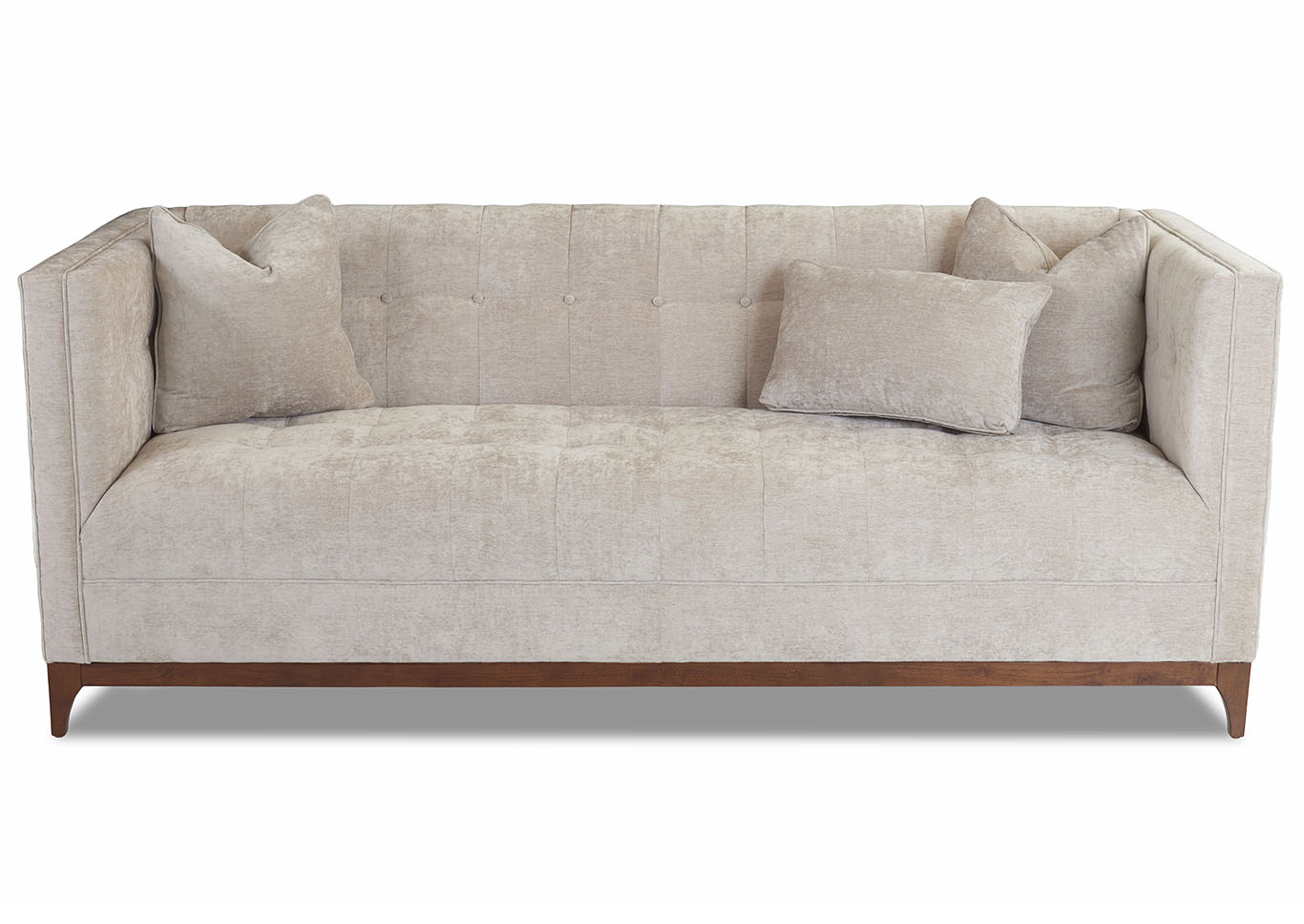 Hornell Evyn Dune Stationary Sofa Outlet Boulevard Furniture Fabric