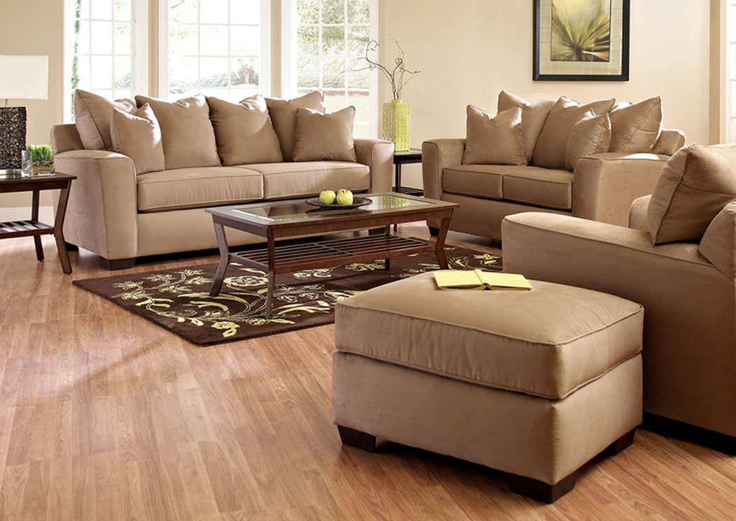 Heather Camel Sofa,Klaussner Home Furnishings