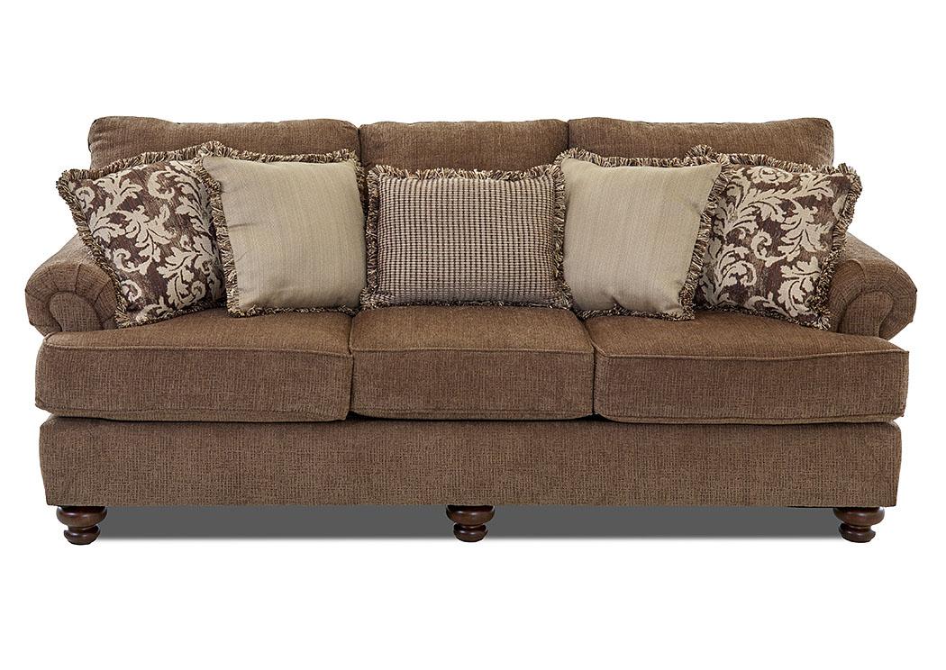 Unclaimed Furniture AR Greenvale CrissCross Leather Fabric ...
