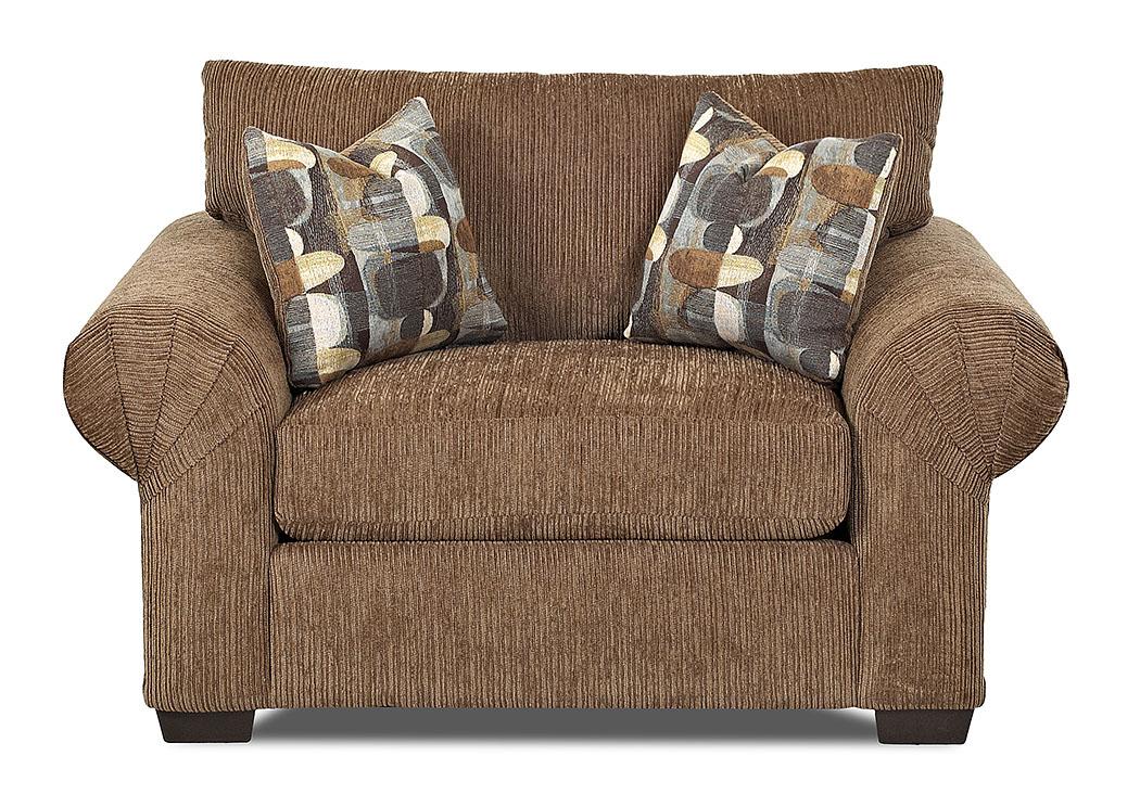 Amite City Furniture Amite La Tiburon Buster Chestnut Brown