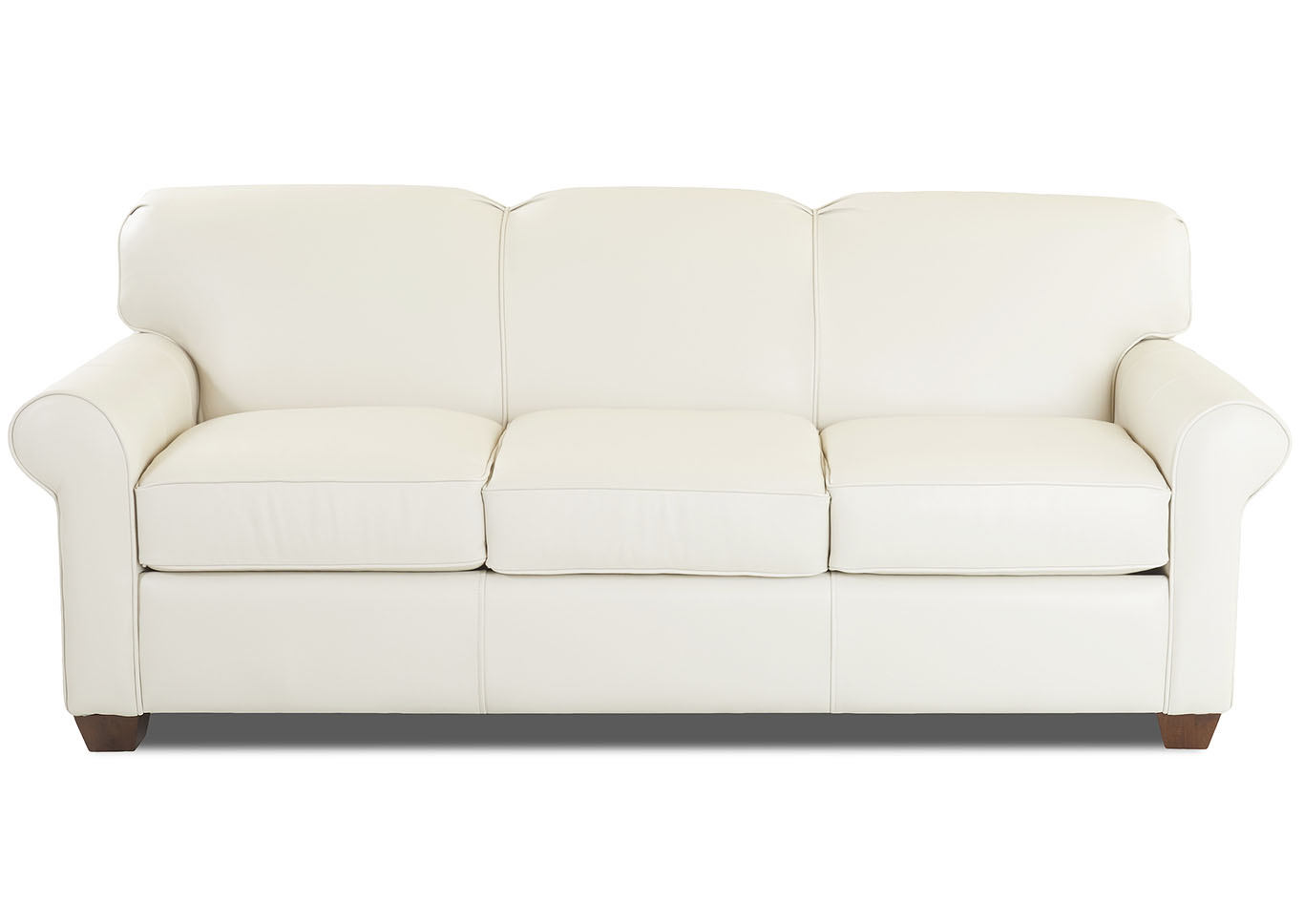 - Mayhew White Leather Sleeper Sofa Hornell Furniture Outlet