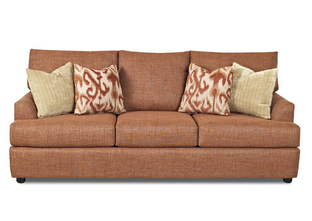 Lukas Fawn Sofa,Klaussner Home Furnishings