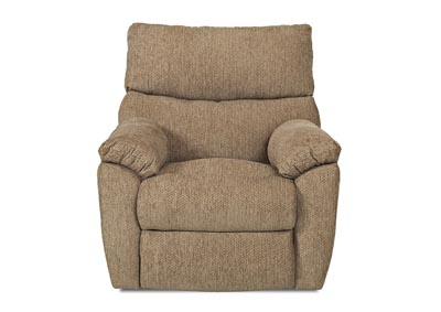 Odessa Reclining Swivel Fabric Chair