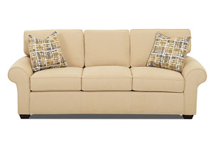 Image for Patterns Macy Straw Stationary Fabric Sofa