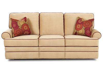 Belleview Reclining Fabric Sofa