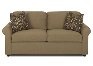 Image for Brighton Brown Sleeper Fabric Sofa