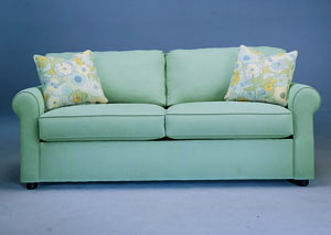 Image for Brighton Mist Stationary Fabric Sofa