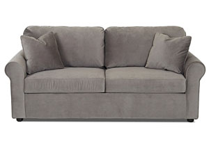 Image for Brighton Oakley Graphite Sleeper Fabric Sofa