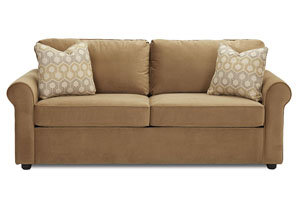 Image for Brighton Tina Coffee Sleeper Fabric Sofa