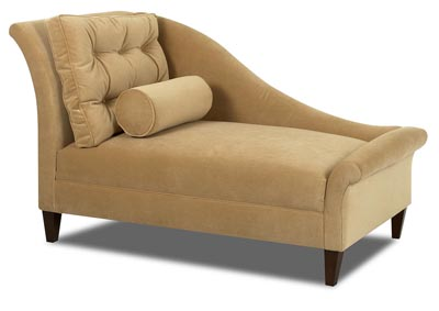 Lincoln Stationary Fabric Chaise