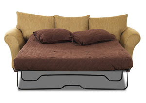 Image for Fletcher Bronze Stationary Fabric Sleeper Sofa