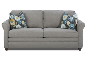 Dopler Lucas Ash Gray Fabric Sleeper Sofa