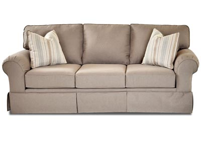 Woodwin Classic Smoke Fabric Sofa