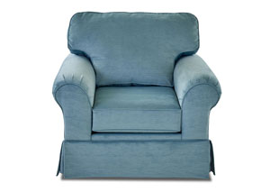 Woodwin Empire Carribean Stationary Fabric Chair