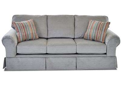 Woodwin Gray Fabric Sofa