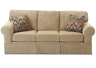 Woodwin Frenzy Cashmere Fabric Sleeper Sofa