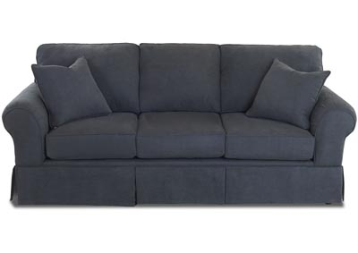 Woodwin Dark Gray Fabric Sofa