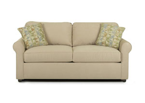 Brighton Khaki Loveseat