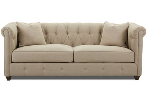 Image for Beech Mountain Studio Natural Sofa
