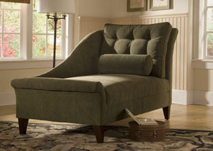 Lincoln Cappucino Chaise Lounge