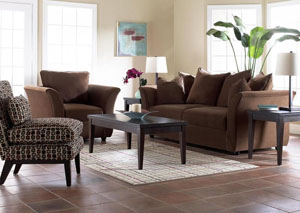Voodoo Chocolate Sofa & Loveseat