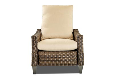 Belmeade Coleman Vanilla Reclining Fabric Chair
