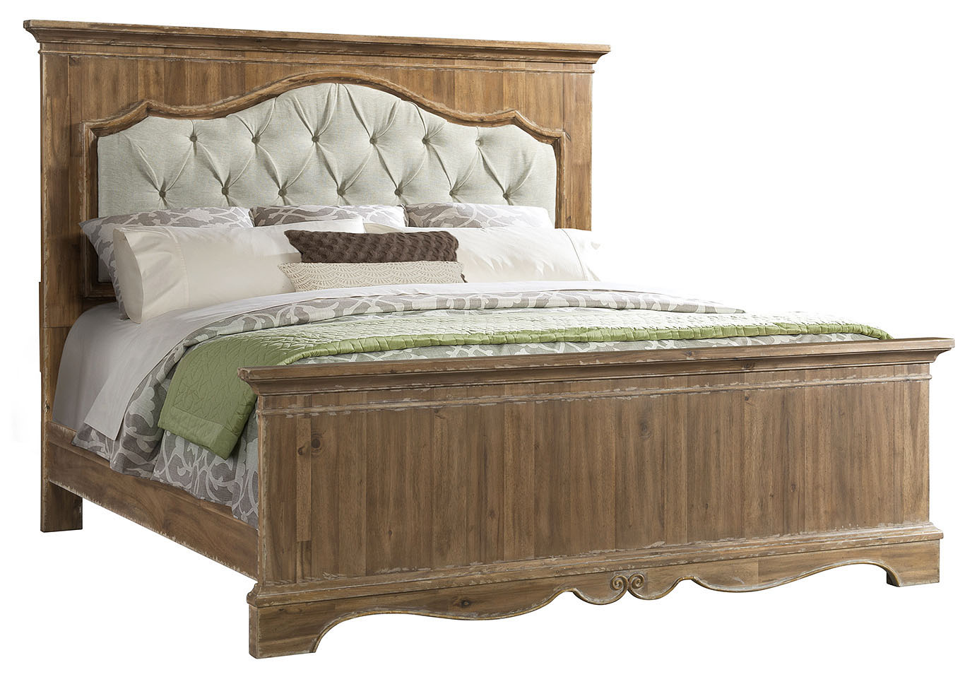 1048 Cottage Charm King Bed,Lane Furniture