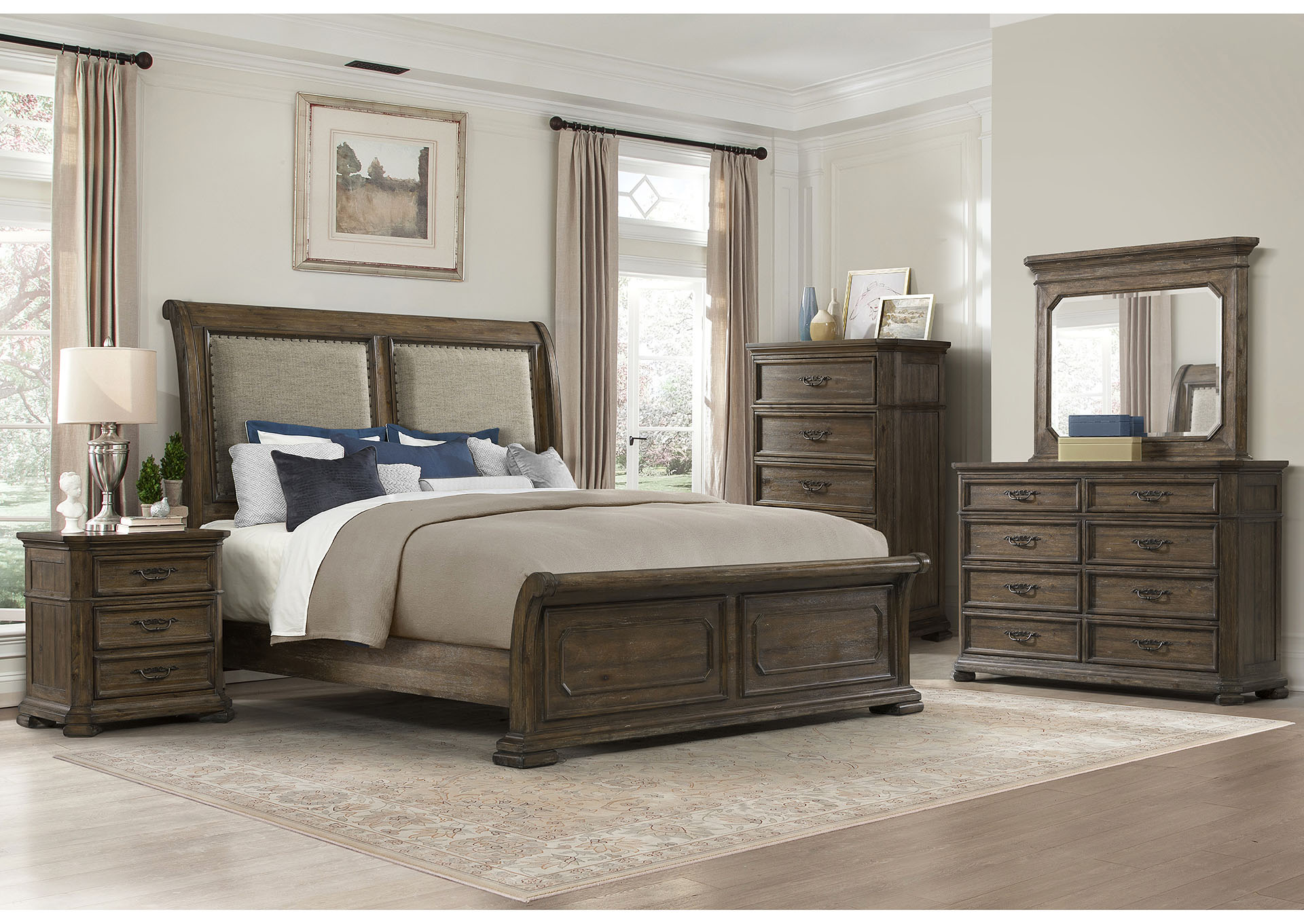 1050 Casa Grande Dresser with Mirror,Lane Furniture