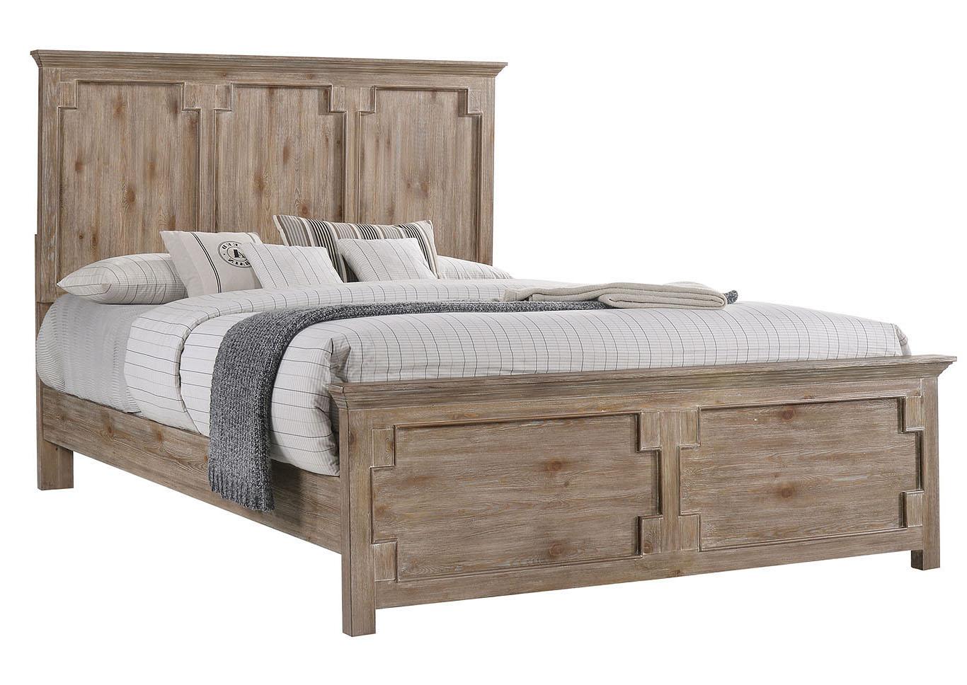 Sit & Sleep @ Walker\'s Furniture 1055 Santa Fe King Bed