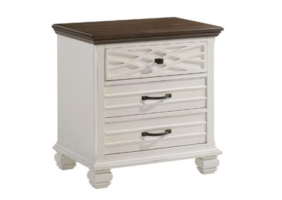 Image for 1058 Bellebrooke White Nightstand