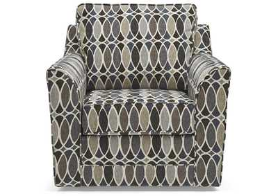 Image for Zena Dove Cream Accent Swivel Chair