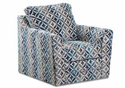 Image for Zena Dove Accent Swivel Chair