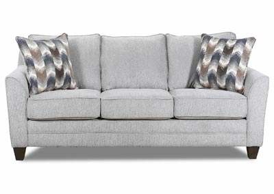 Image for Zena Dove Gray Queen Size Sleeper Sofa