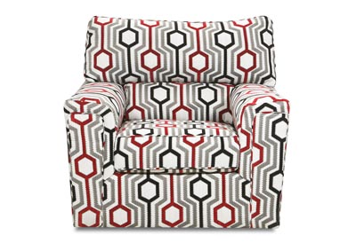 Image for Dante Almond Accent Swivel Chair