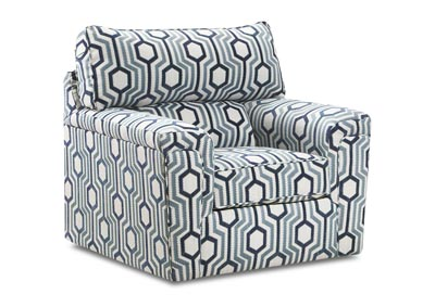 Image for Dante Almond Cream Accent Swivel Chair