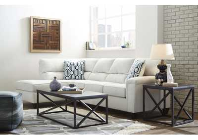 Image for Dante Almond Cream Stationary Sectional