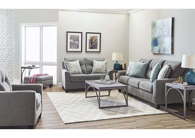 Image for Dante Tweed Gray Queen Size Sleeper Sofa