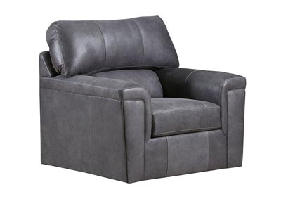 Image for Montego Gray Accent Swivel Chair