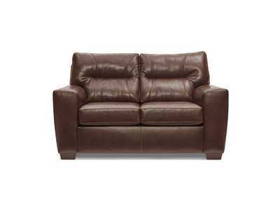 Image for SoftTouch Brown Loveseat