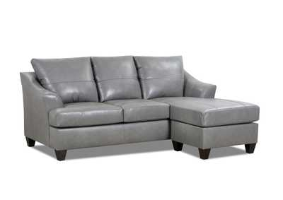 SoftTouch Gray Sofa with Chaise