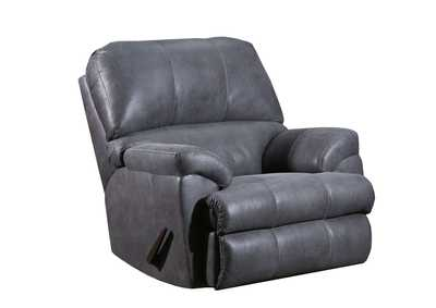 Montego Gray Rocker Recliner