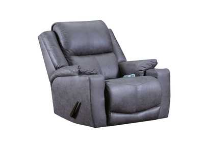 Chaz Gray Rocker Recliner