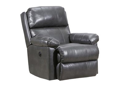Image for Fury Gray Rocker Recliner